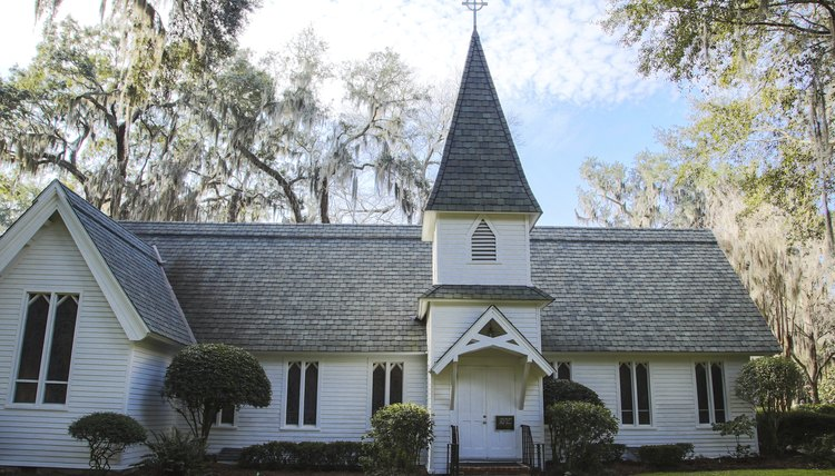 old white church in southern park - Church Administrative Assistant Salary