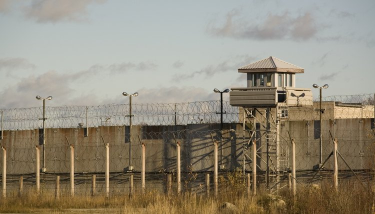Jail facilities with watch tower