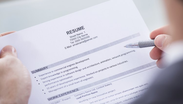 How to List Typing as a Skill on a Resume Career Trend