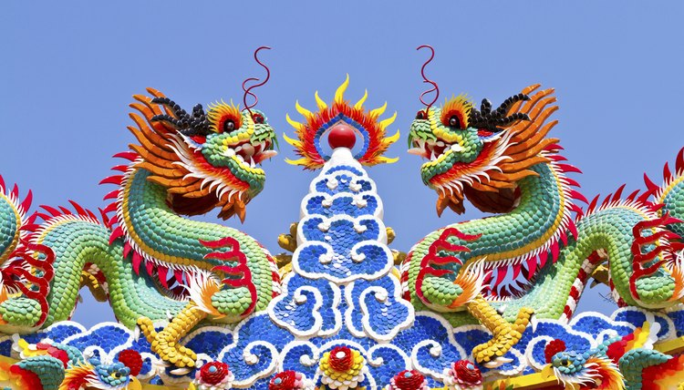 What Do The Colors Of The Chinese Dragons Mean Synonym