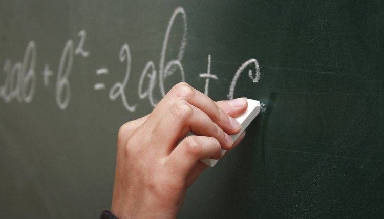 Wrighting at the chalkboard