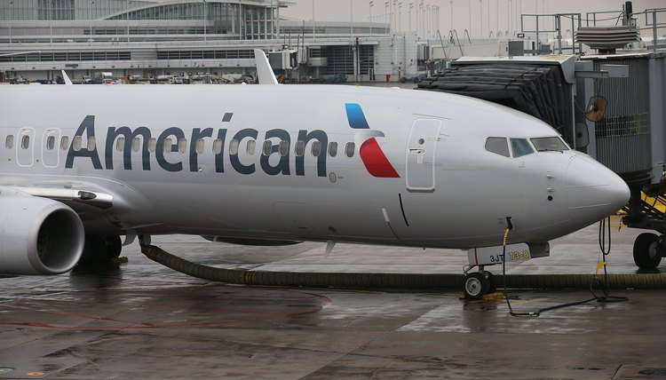 Boeing produces commercial aircraft for companies like American Airlines.