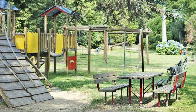 Italian park playground