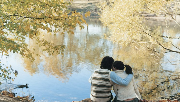 Nature can serve as a calming aid to help your boyfriend relax.