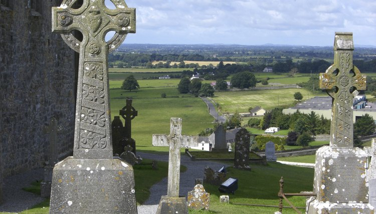 religious graveyard