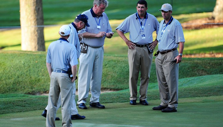 Be respectful of the game, yourself and others while out on the golf course.