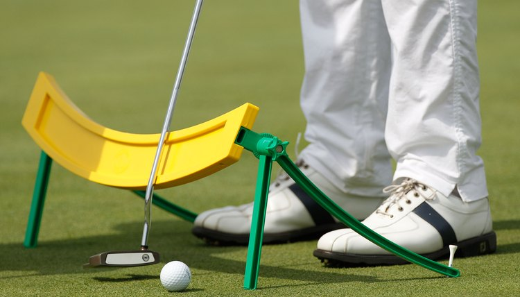 Training aids can help with putting as well as the full swing.