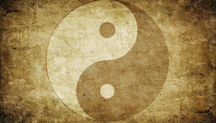 References to the Chinese symbols Yin and Yang occur as long ago as 700 B.C. in the I Ching.
