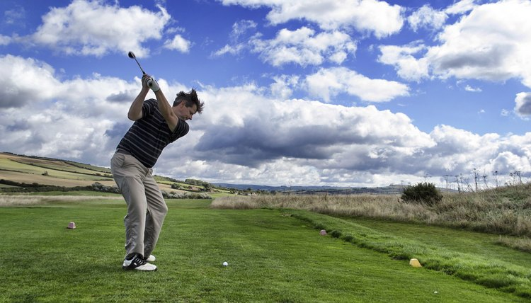 Position of the Knees in the Golf Swing