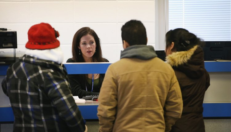 Undocumented Immigrants Apply For Driver's Licenses At Chicago DMV