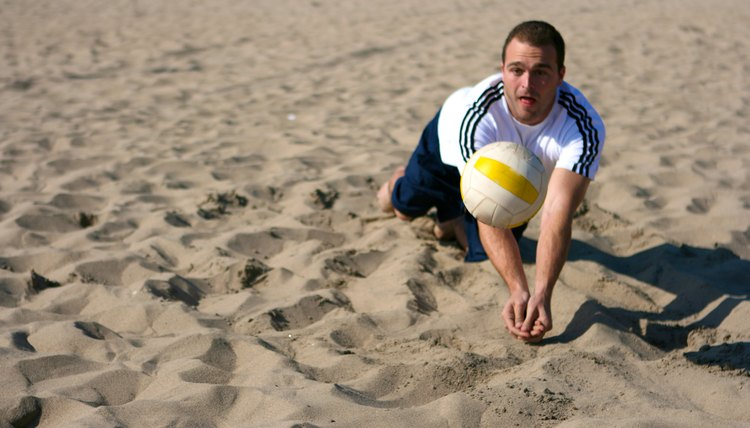 How to Bump a Volleyball Without Pain