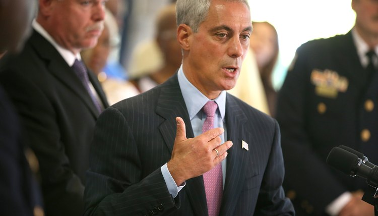 Rahm Emanuel, now the mayor of Chicago, was President Barack Obama's first chief of staff.