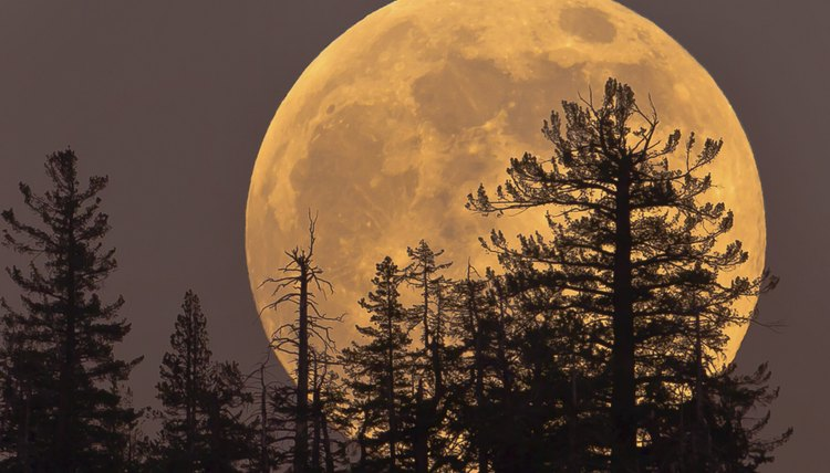 Easter is based on the date of the first full moon in spring.