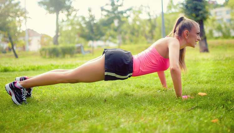 Dryland Exercises for Swimming Without Weights
