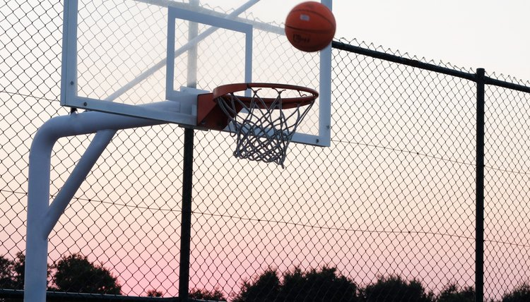 What Is the Square Behind & Above the Rim on a Basketball Backboard for?
