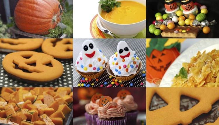 Set out plenty of yummy Halloween treats to offset the
