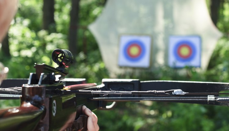 Homemade Crossbow Target