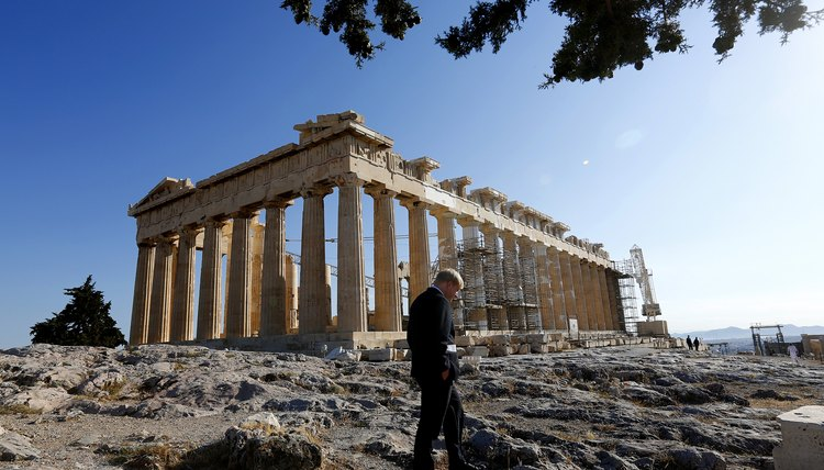 The Parthenon was a temple dedicated to Athena.