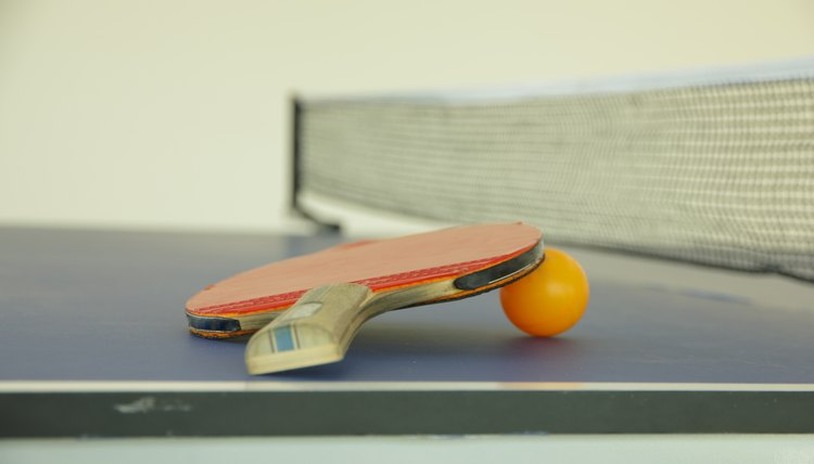 How to Keep a Ping-Pong Paddle Tacky