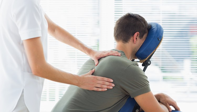 Full Back Chair Massage Techniques