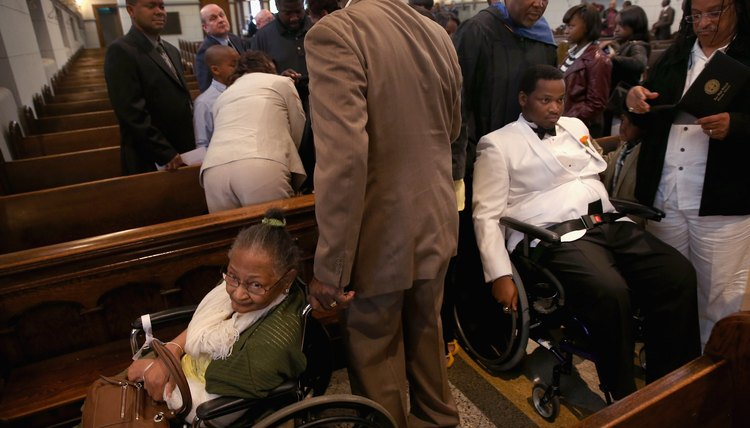 Catholic institutions attempt to serve all people with disabilities even though the law exempts most churches.