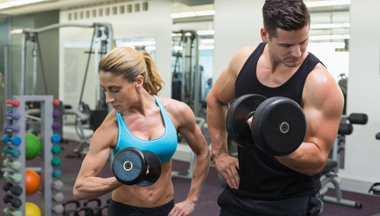 Bodybuilders Who Use Full-Body Workout Routines