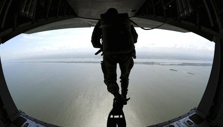 Pararescuemen Train On The Banana River Near Patrick Air Force Base,  Florida.