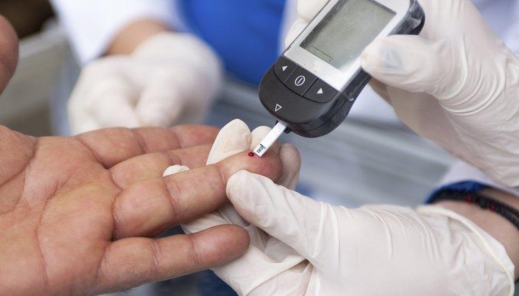 Measuring blood sugar