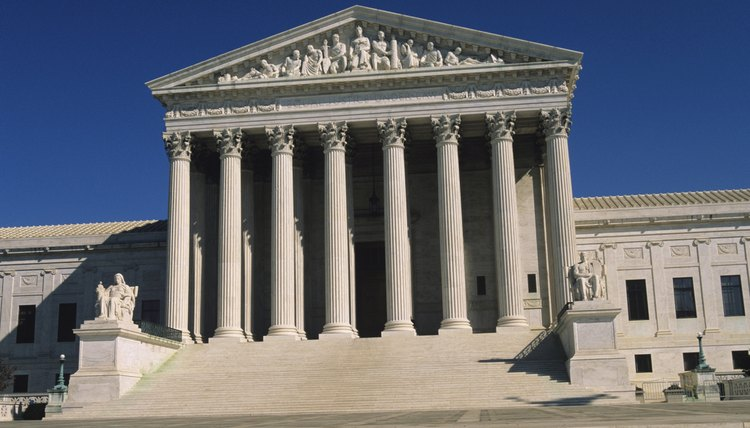 Studying Supreme Court decisions helps students see how laws change.