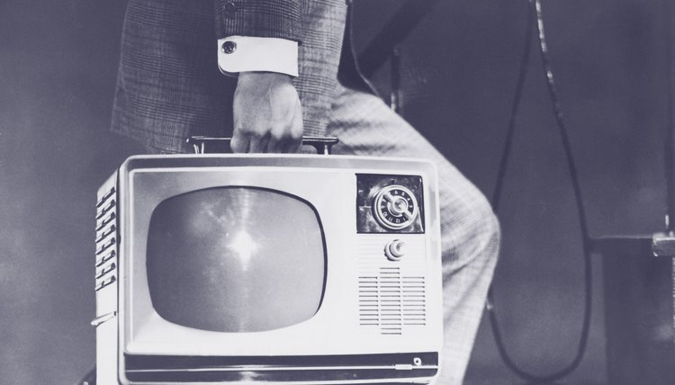 The widespread adoption of television in the 1950s forever altered American culture.