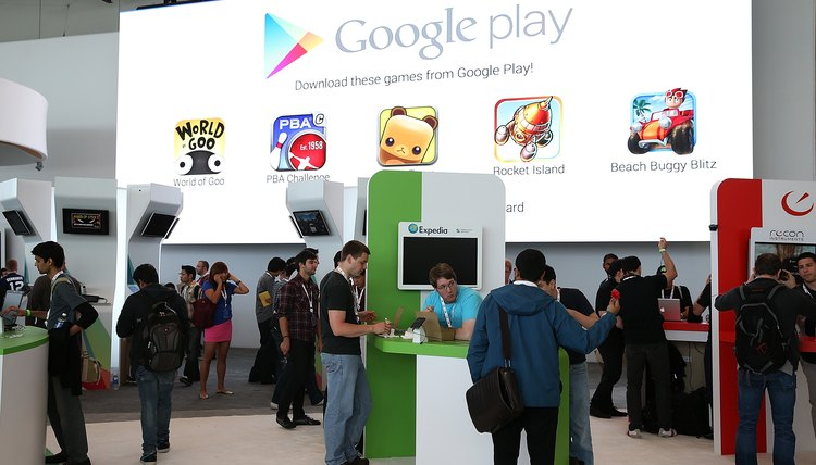 Google Play is Google's answer to iTunes.
