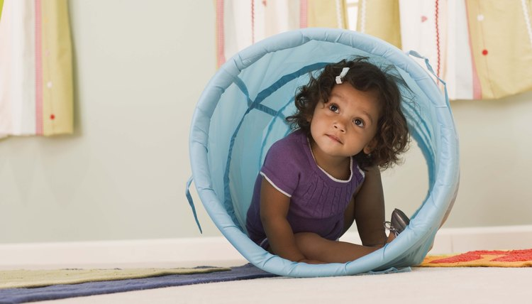 Kindergarten helps young children to learn through play.