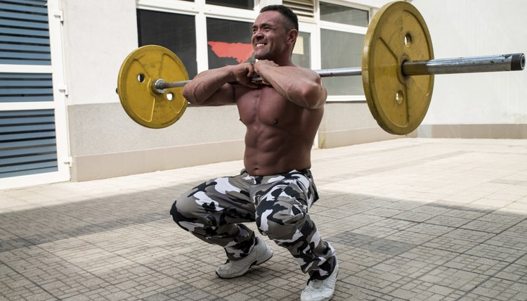 The Benefits of Barbell Front Squats