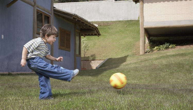 How Do Your Muscular & Skeletal Systems Help You Kick a Soccer Ball?