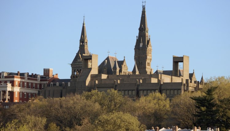 Georgetown, a Jesuit university in Washington, D.C., was founded in 1789.