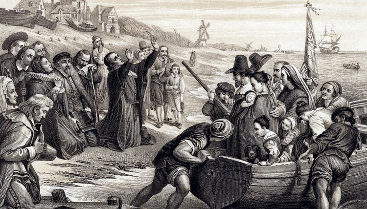 Pilgrims looking for religious freedom lived in Holland before migrating to the New World.