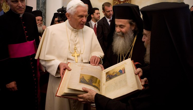 Both the Roman Catholic Church and the Eastern Orthodox Church share many core beliefs.