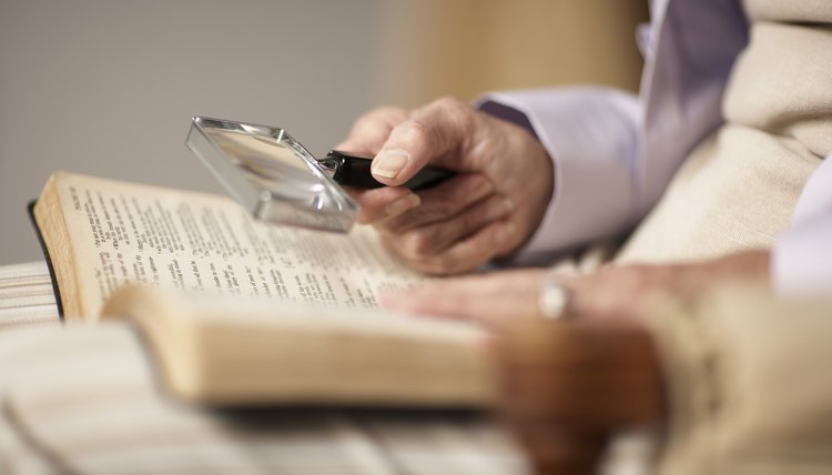 Biblical study is the core of the M.Div. degree.