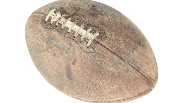 How to Restore an Old and Cracked Leather Football