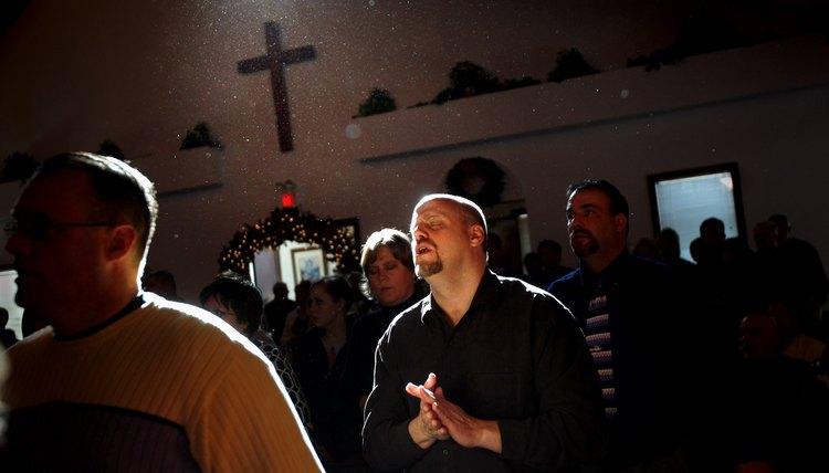 Pentecostal churches, like Wilmington Church of God, believe the Last Supper prefigures salvation.