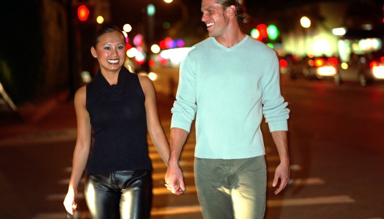 Focus on enjoying yourself and having fun when out on a date.