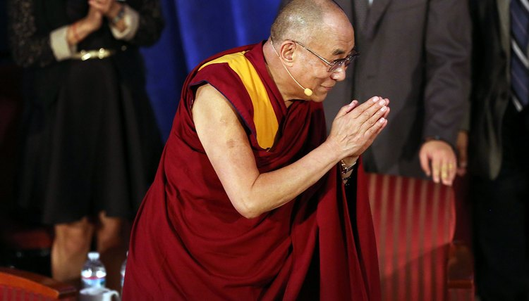 The Dalai Lama is outspoken about serving others.