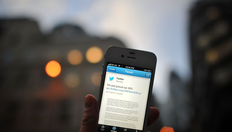 Save money by using the Twitter app instead of sending tweets by SMS.