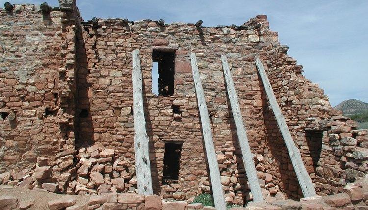 A structure at the Kinishba Ruins, an ancient Hopi pueblo