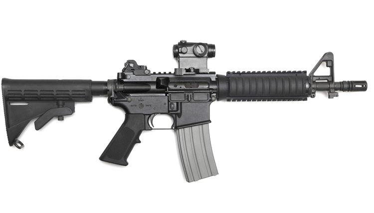 The M4A1 assault rifle, as used by Navy SEALs, is a highly adaptable weapon.