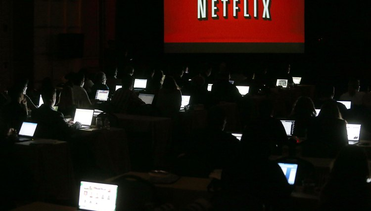 Netflix has to be run with a browser on non-Windows 8 computers.