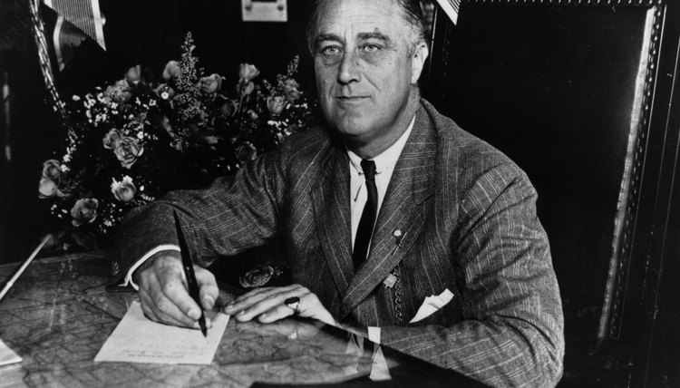 Franklin Roosevelt was the moving force behind legislation that helped alleviate the Great Depression.