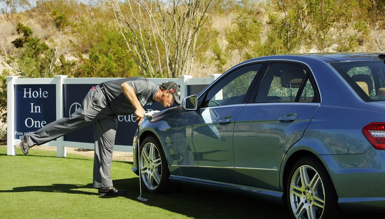 Hitting a hole-in-one is so difficult that some tournaments offer a free car for hitting one.