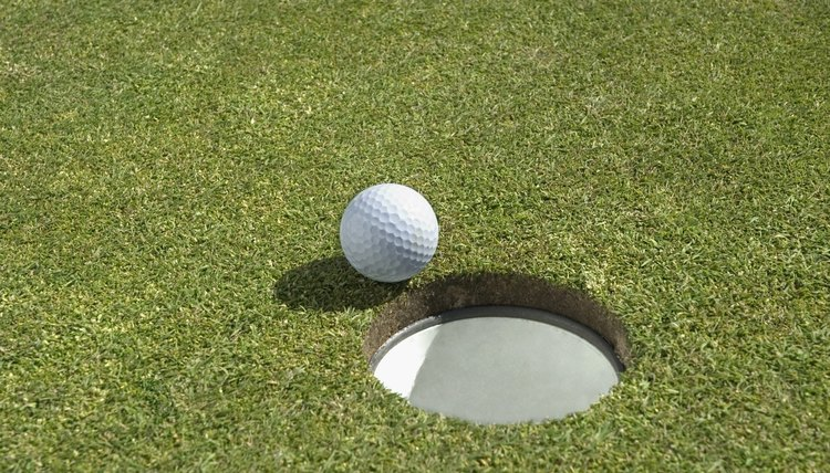Golf courses often change hole locations on all greens daily, so check pin placements when playing the same course on a different day.
