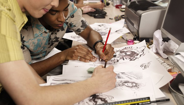 Programs in animation and digital arts teach students drawing fundamentals, as well as digital media production.